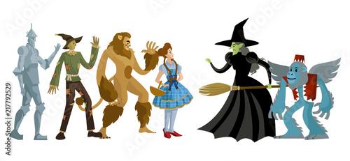 Fotografie, Obraz wizard of oz characters