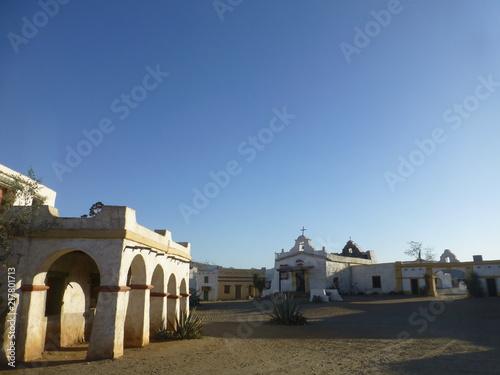 Photo  Poblado mexicano en desierto de Tabernas, Almeria