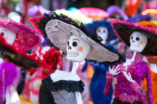La Elegancia De Las Catrinas El Día De Muertos En México Comprar