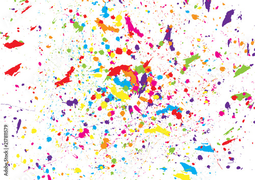 Fotografia  abstract splatter watercolor background