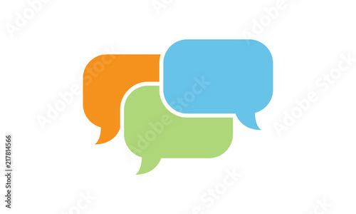 Conversation Icon Fototapeta