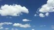 Blue sky with cotton cloud 7