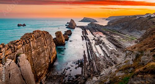 Arnia coast.Santander