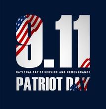 Illustration Of Patriot Day Po...