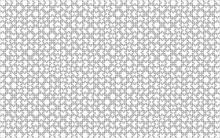 1000 White Puzzles Pieces Arra...
