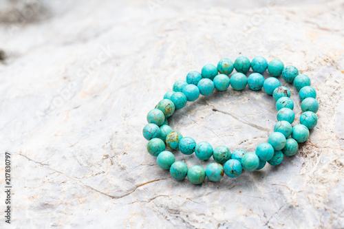 Fotografie, Obraz The Turquoise stone bracelet