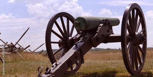 Gettysburg Cannon Canvas Print