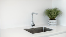 Modern Kitchen Sink And Faucet...
