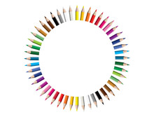 Set Of Colored Pencil Collecti...