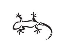 Lizard Chameleon Gecko Silhoue...