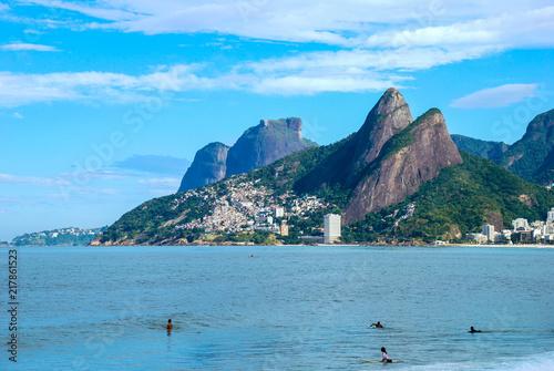Deurstickers Centraal-Amerika Landen Ipanema Beach, Rio de Janeiro