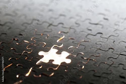 パズルの1ピース Slika na platnu