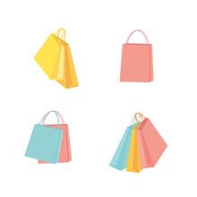 Colorful Shopping Bag Illustra...