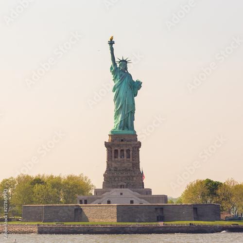 Deurstickers New York City Statue of Liberty, New York City, USA
