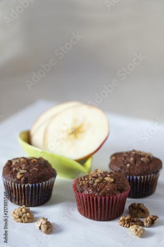 Photo  Muffiny jabłkowe