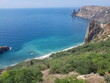 view of the Black Sea from Cape Fiolent in the Crimea