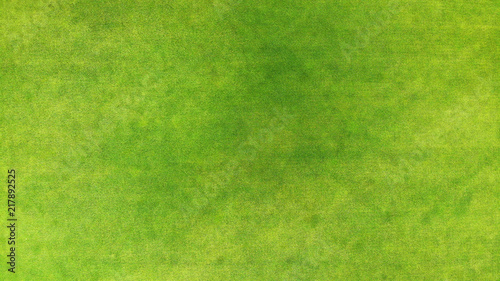 Foto auf Leinwand Gras Aerial. Green grass texture background.