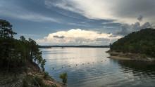 Broken Bow Lake, Oklahoma, Storm Clouds
