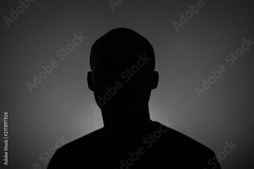 Obraz na plátně Self Silhouette