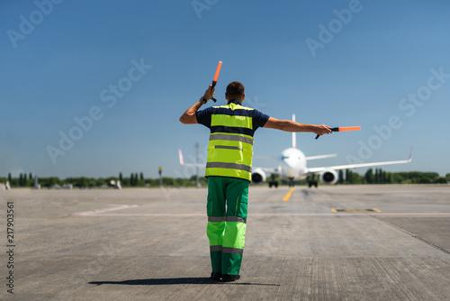 Fotografie, Obraz Time for landing