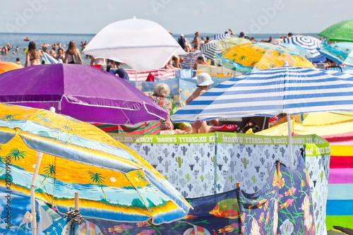 obraz PCV Lato na plaży