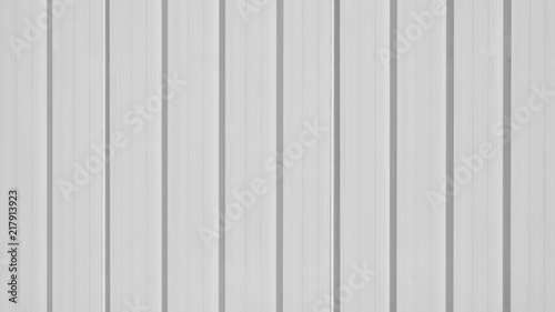 Foto  grey corrugated metal roof wall