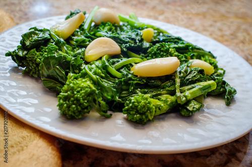 Fototapeta Sauteed Garlic Broccoli Rabe obraz