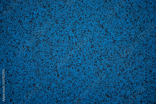 blue porous surface abstract background recycled rubber tile