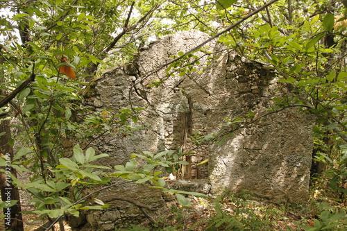In de dag Rudnes Cévennes - Ruine