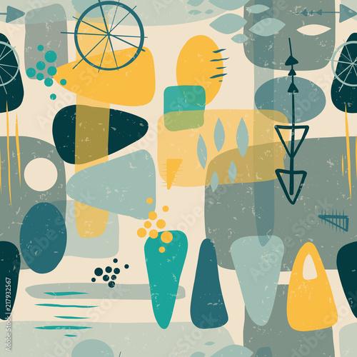 w-polowie-wieku-ksztalty-abstrakcyjny-wektor-bez-szwu