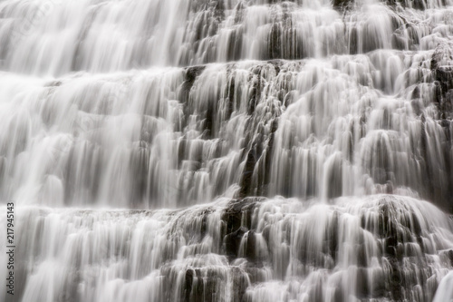 obraz dibond Detail of the Dynjandi waterfall in Iceland
