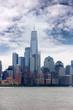 Downtown Manhattan from Hoboken pier