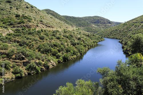 Foto op Aluminium Rivier Douro Valley – Tributary Coa River