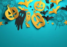 Paper Art - Halloween Decorati...