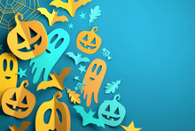 Paper Art - Halloween Festive ...