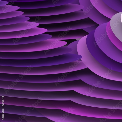 Fototapety fioletowe   geometria-3d-w-kolorze-fioletowym