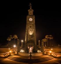 Clock Tower In Daytona Beach Florida FL