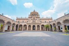 Exterior Of The Hospicio Cabañas Museum In Guadalajara City, Mexico
