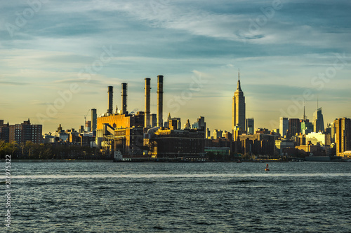 New York Skyline Cityview Manhatten with Empire State Building