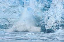 Calving On The Hubbard Glacier...