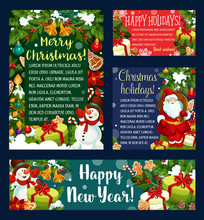 Christmas Holidays Greeting Card, Banner Template