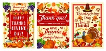 Thanksgiving Day Holiday Greeting Banner Design