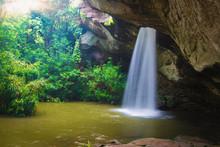 Beautiful Of Sang Chan Waterfall (Moonlight Waterfall) - Ubon Ratchathani, Thailand