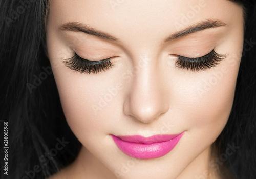 Fotografija Eyes woman lashes beauty close up macro