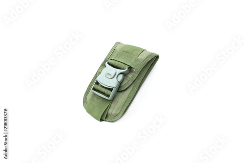 Photo  pocket of military on isolated
