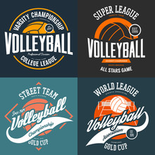 Sport T-shirt Prints For Volle...