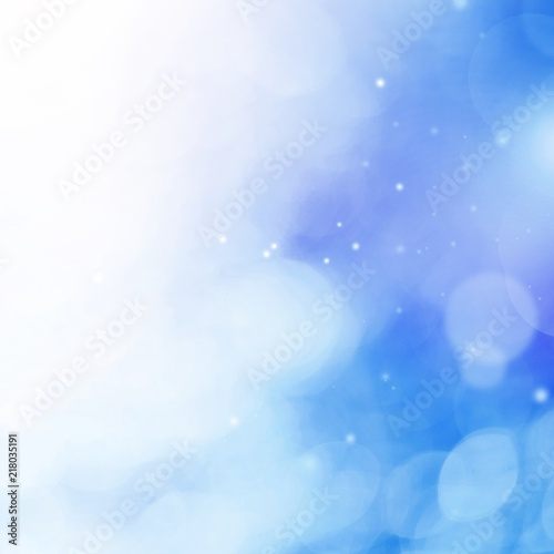 Abstract bokeh lights background Poster