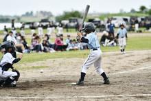 少年野球の打者