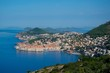 Coast of Dubrovnik along Adriatic Sea