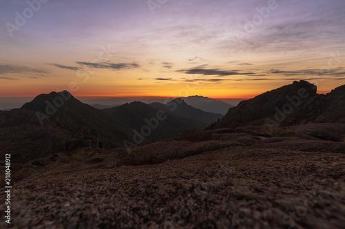 Nascer do Sol Pico dos Marins - Serra da Mantiqueira - Brasil / Brazil